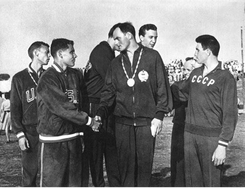 1960 Rome: Team winners - Hungary, USA, USSR