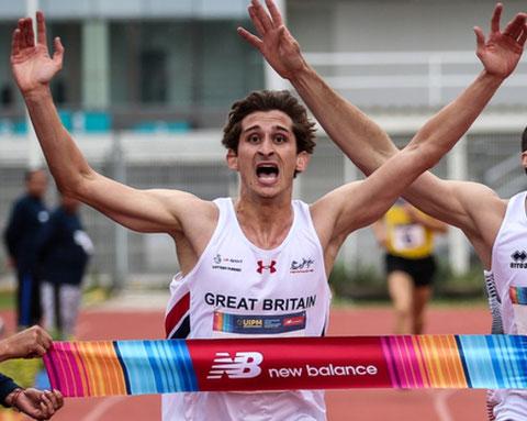 2018 Men's World Champion: Jamie Cooke (GBR)