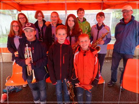 Jugendkapelle 2015 - MAI-Treff mit Dirigent Roland Kopp