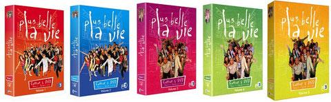 Coffrets PBLV : Volumes 1 à 5