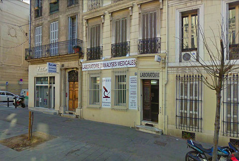 Boulevard Longchamps à Marseille