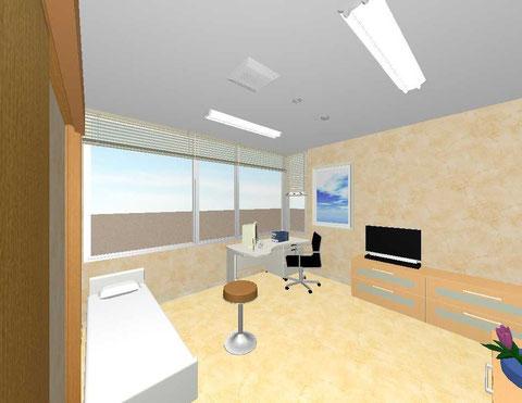 イメージ図・第一診察室