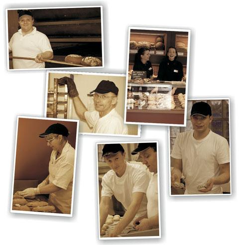 Bilder der Bäcker & Verkäuferinnen