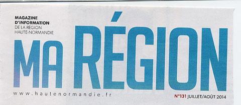 """titre le journal de la Normandie ! mais attention : celui de la """"Haute"""", car nous sommes encore à l'heure d'hiver  !"""