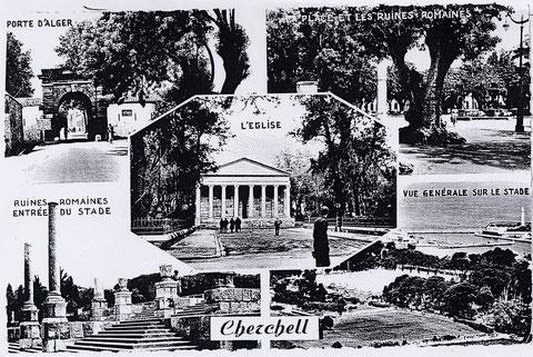 """Cherchell, quelle belle ville !mais les nouveaux venus ne pouvaient s'y attarder , c'était direction L' Ecole des EOR ! et là plus question d'y chanter comme à Modane """" la madelon, viens nous servir à boire ...""""!"""