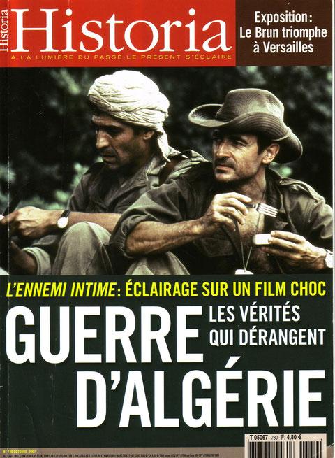 au festival de Cannes, on n'a pas pu ne pas en parler de l' Algérie d'aujourd'hui avec en mémoire le lâche assassinat des «moines de Tibérine» … et notre pauvre Enrico «interdit d' Algérie» !!!