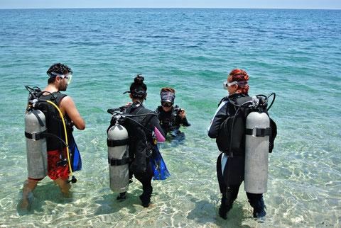 Buceo scuba en La Paz Baja Sur