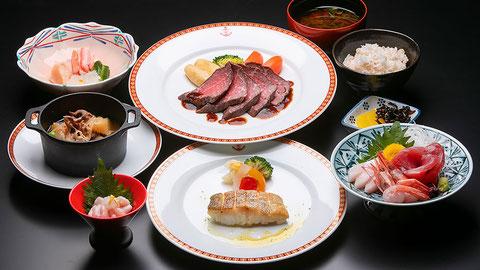 舞鶴「松栄館」さんのコース料理