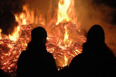 5 gennaio 2015-Il tradizionale Falò - ore 20.00 - Parco festeggiamenti Gaio