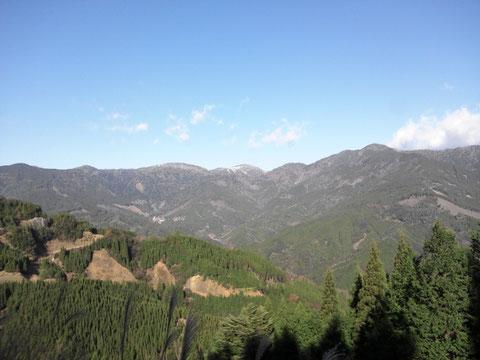 渡川 HighestMountain三方岳 初冠雪