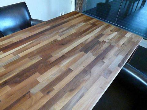 スイス 集成材テーブル