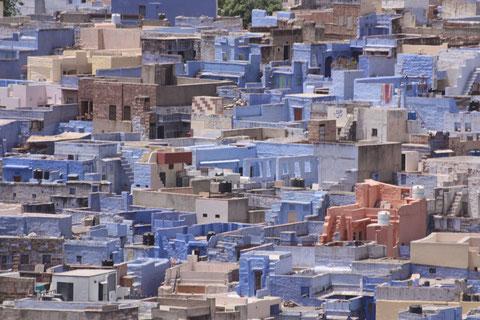 """Die """"blaue"""" Stadt"""