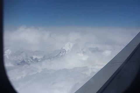 Zeigt sich zu guter Letzt doch noch: Der Mt. Everest