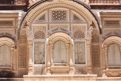 Fassade des Meherangarh Forts
