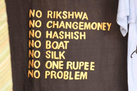 Ein hilfreiches T-Shirt für Indien