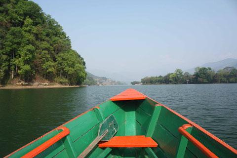 Unterwegs auf dem Fewa-See