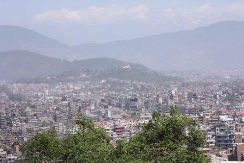 Alleine Kathmandu hat bereits 700.000 Einwohner