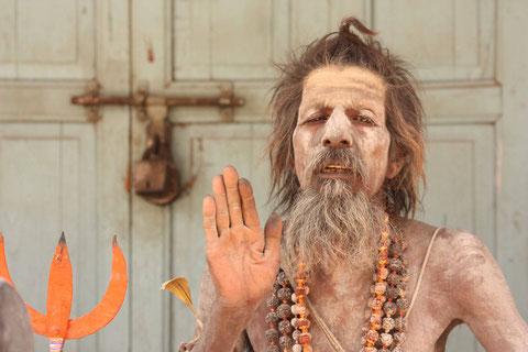 Einer der Sadhus in Pushkar