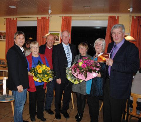 Verabschiedung alte Vorstandschaft durch unseren Bürgermeister Februar 2013