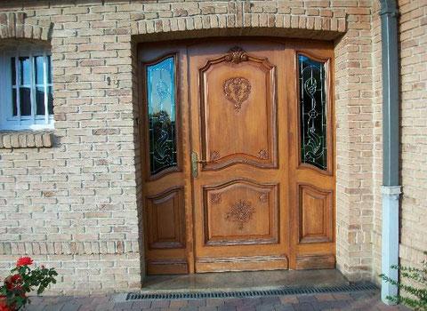R novation parquets styles et fermetures for Reparation porte d entree