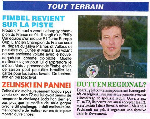 1993 - Compte Tours