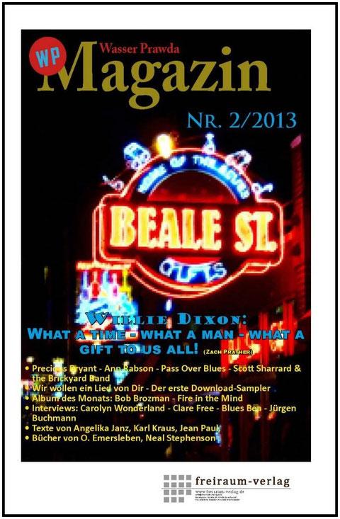 Die Ausgabe Nr. 2/2013 erscheint am 21.02.13