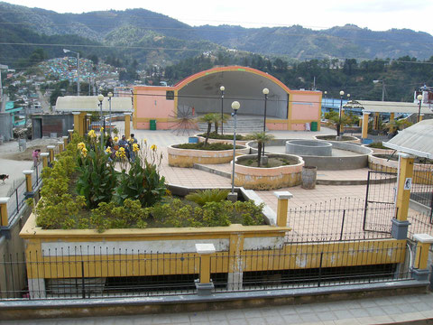 Parque Central Comitancillo S.M.