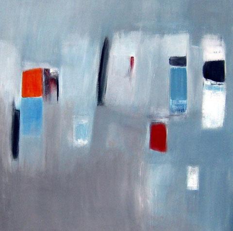 huile sur toile 2008    120 x 120