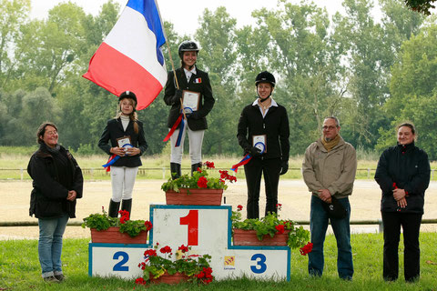 Photo David Seltz - podium du 4 allures