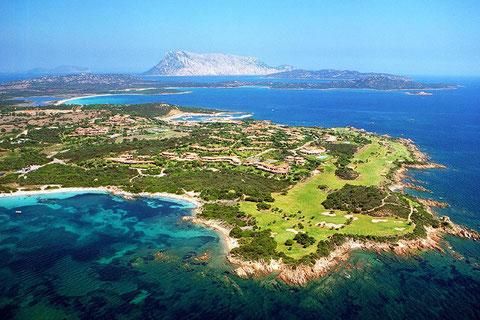 Golfreise Italien Golfpaket Golf Sardinien Strand Meer Reisen Puntaldia