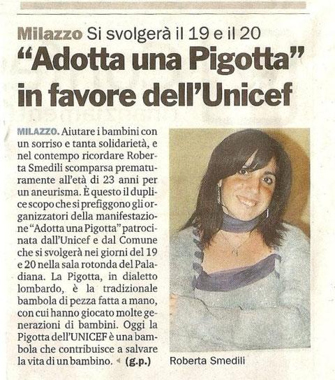 Gazzetta del Sud - 15 Dicembre 2009