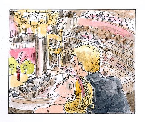 Genèse de l'Ouximer - Zinaïda à l'opéra