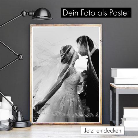eigene bilder drucken lassen - dein foto als poster - bilderrahmen poster a4 a3 30x40 - print - hochzeitsfotos urlaubsfotos familie