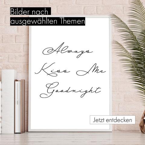 Poster - Typographie - Typo  - quotes - bild mit spruch - Tiere - Blumen  - Natur - City - Collagen - Graphics