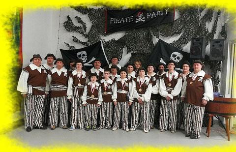 Spielmannszug Niederdrees Pirat im Jahr 2014