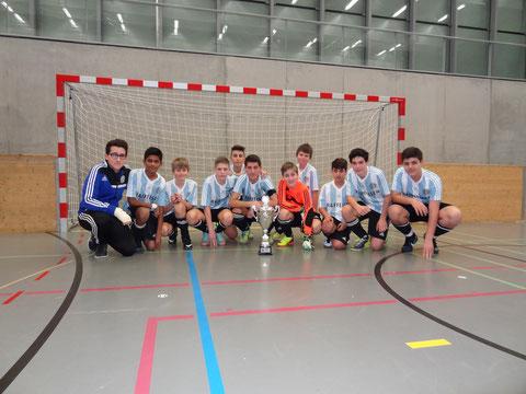 Sieger Junioren C 3. Stärkeklasse  FC Turgi