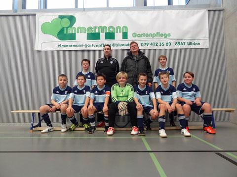Sieger Junioren E 3. Stärkeklasse FC Wohlen Ed