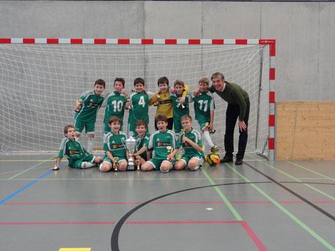 Sieger Junioren E 2. Stärkeklasse FC Mutschellen Ea