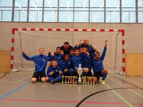 Sieger Junioren D 3. Stärkeklasse  FC Oetwil - Geroldswil