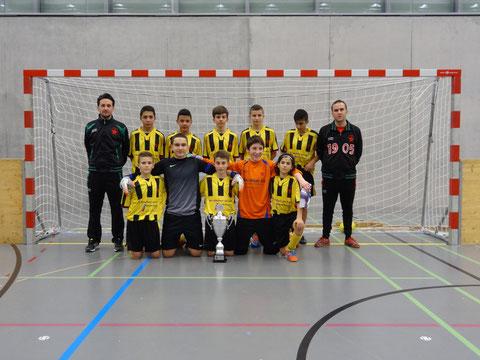 Sieger Junioren C 1. Stärkeklasse Red Star U14