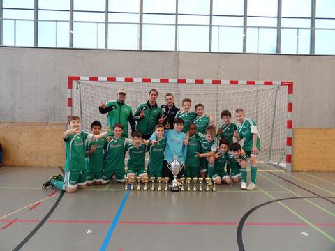 Sieger Junioren D 2. Stärkeklasse FC Mutschellen Da