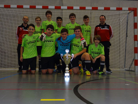 Sieger Junioren C 2. Stärkeklasse FC Bremgarten C2