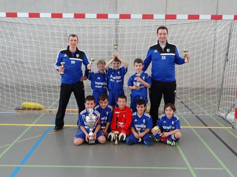 Sieger Jun F - Block 1 FC Wohlen U8