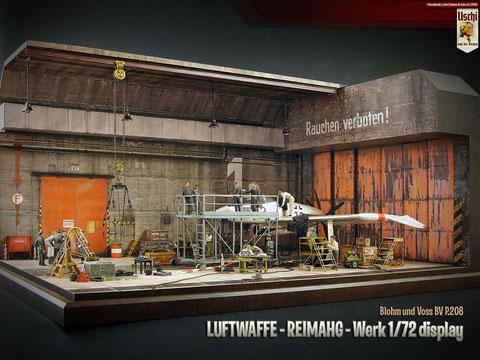 Diorama Aircraft Uschi van der Rosten