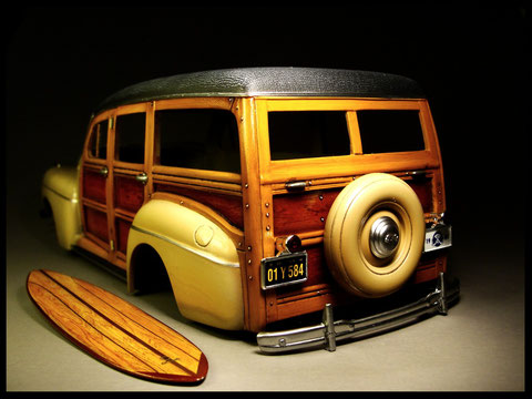AMT Ertl Ford Woody 1/25 by Alexander Glass