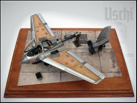 Meng Me-163 Airfield Tarmac