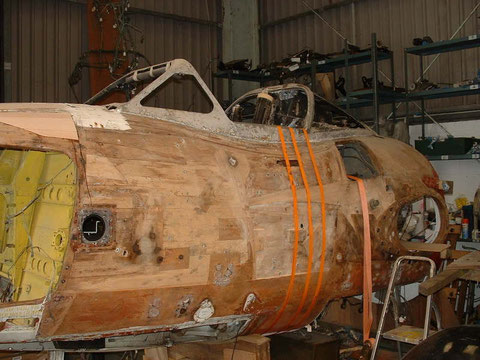 De Havilland Vampire Plywood