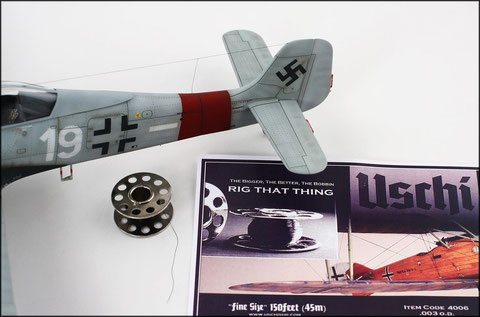 """Fine Size"" in the 48th scale. Model by Jason Brewer."