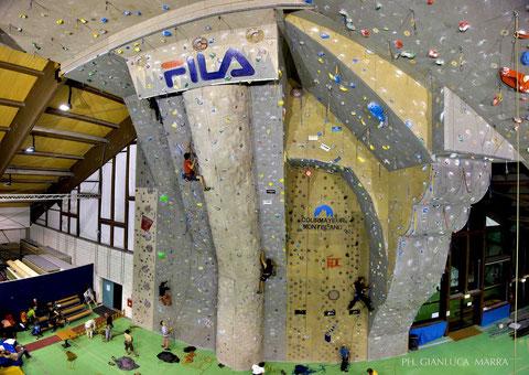 palestra d'arrampicata courmayeur