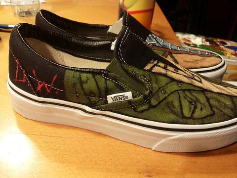 finally...my own Croatoan 2014 Dean and Sam shoes!